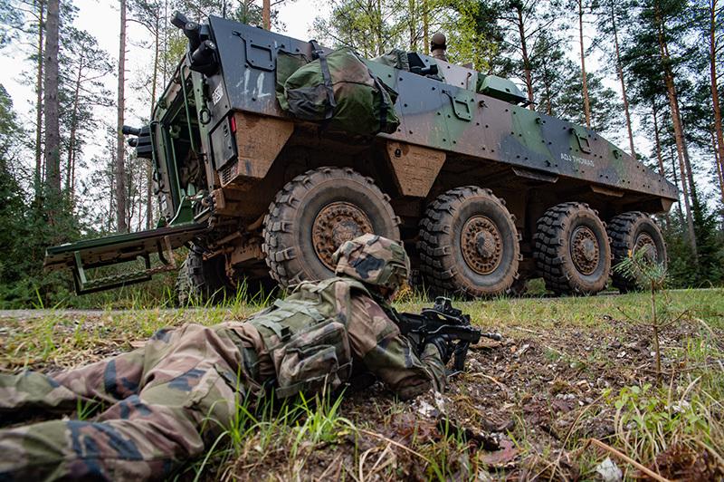 Militaire Français en opération